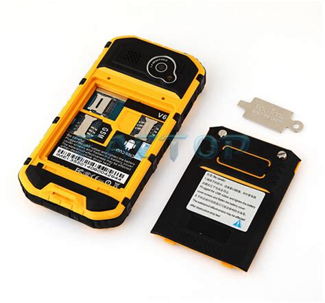 Rugged Mobile India by Best Rugged Mobile Phone India A9 4 3inch Ip67 Waterproof