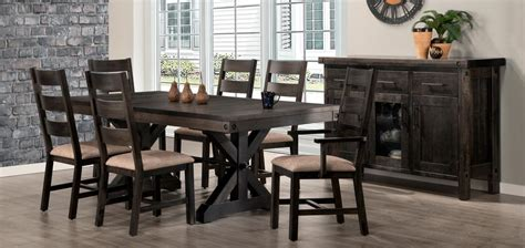 dining room collections rafters dining room collection by handstone