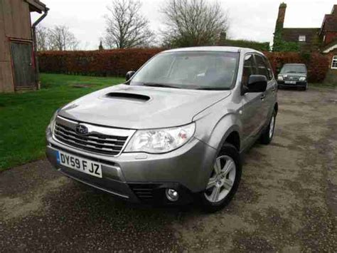 subaru forester 2 0d x 6 services rac warranty car for sale