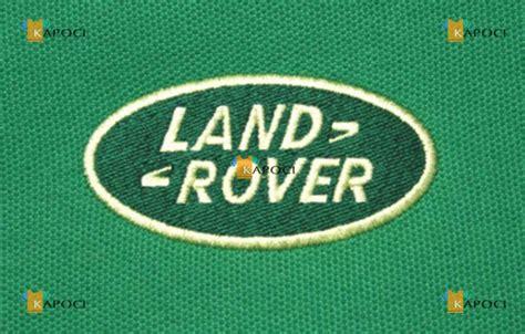design kaos land rover bordir komputer logo land rover kaos polos cikunir