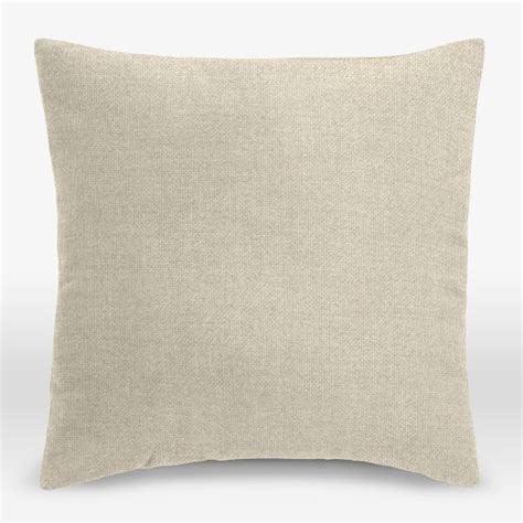 Fabric Pillow Covers by Upholstery Fabric Pillow Cover Brushed Heathered Cotton