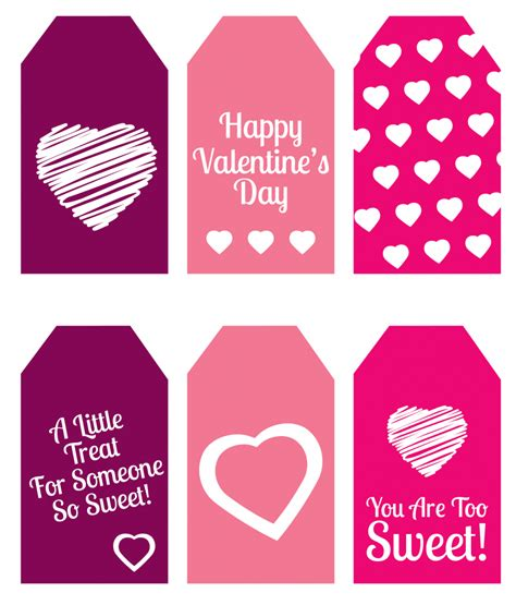 buffet name tag design diy valentine s day gift mini candy boxes printable
