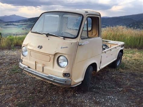 subaru 360 truck for sale rare truck 1969 subaru 360 sambar pickup