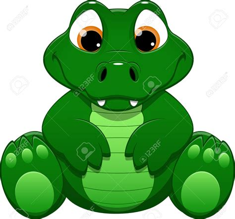 imagenes de vector the crocodile fun clipart crocodile pencil and in color fun clipart