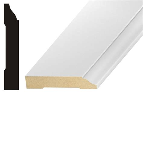 kelleher lwm623 9 16 in x 3 1 4 in mdf base moulding