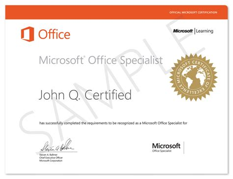 Ms Office Certification prodigy learning academic microsoft office specialist