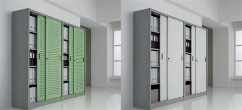 armadi archivio armadi d archivio con ante scorrevoli colorate armadi d