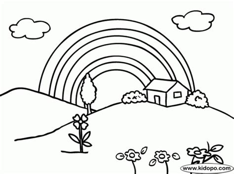 spring rainbow coloring page 623 best fun coloring pages images on pinterest fun