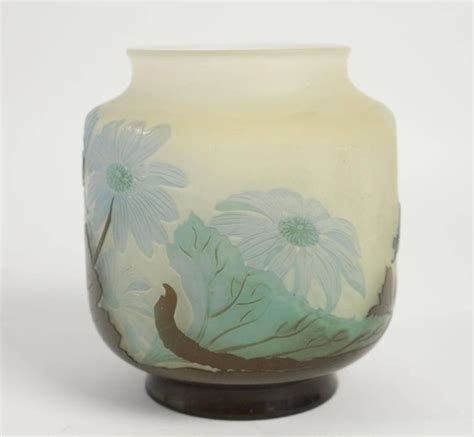 Cameo Vases by Emile Gall 233 Cameo Glass Vase At 1stdibs