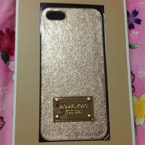 Michael Iphone 5 5s iphone michael kors gold iphone