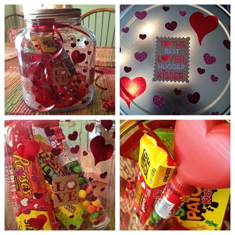 what to give my boyfriend for valentines s day gift for my boyfriend simple glass jar