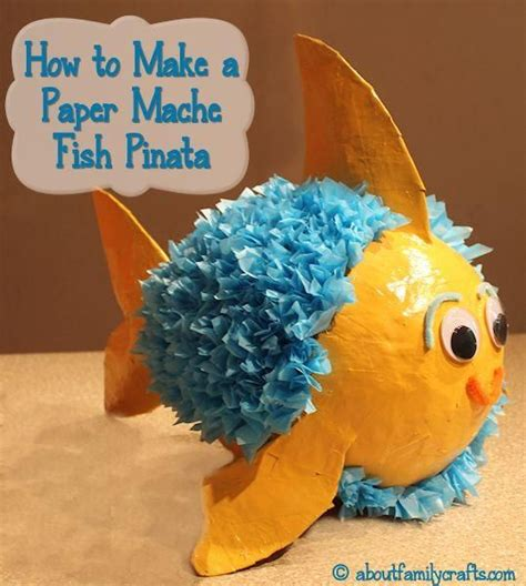 Make A Paper Fish - 17 best ideas about paper mache pinata on