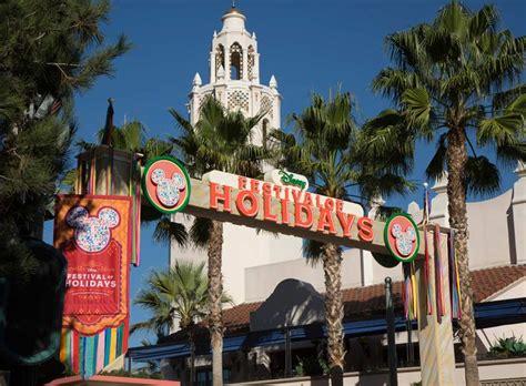 festival of holidays debuts at disney california adventure the disney