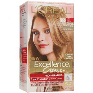 how to get medium beige blonde hair l oreal paris excellence creme triple protection color