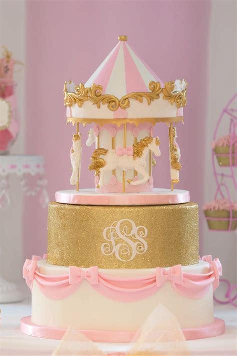 Karas Party  Ee  Ideas Ee   Pink Carousel  Ee  Birthday Ee   Party Karas