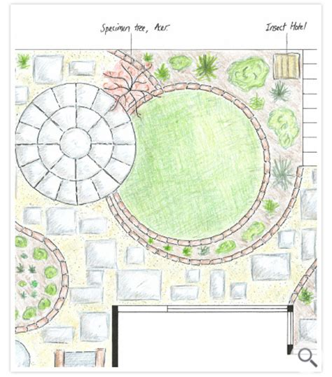 Designing A Garden Layout Green Gardens Garden Design In Exeter