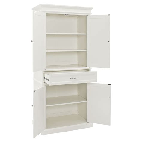 parsons pantry adjustable shelves white dcg stores