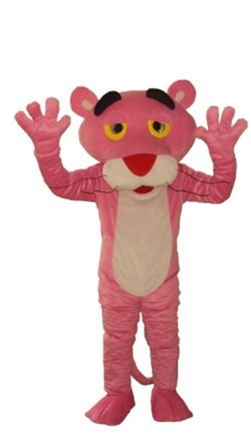 Linetta Dress new pink panther mascot costumes fancy dress
