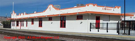 kingman arizona railroad depot renovation