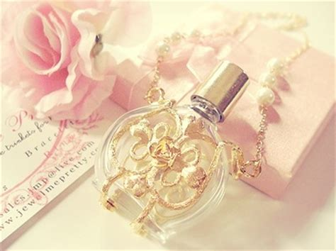 7 Perfumes For The Girly by Baby Girly Gold Perfume Pink Image 122191 On Favim