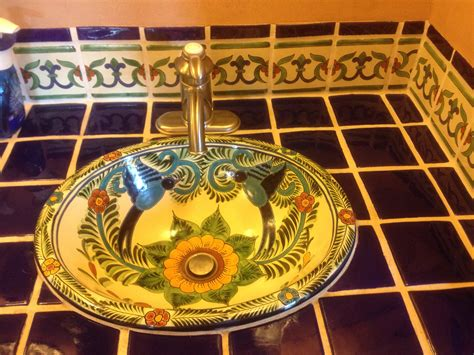 beat pattern in spanish how to remodel your bathroom using mexican tile and sinks