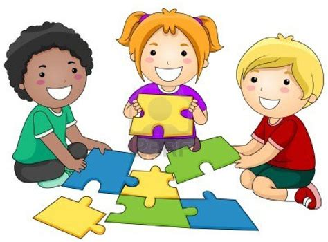 Clipart Children Playing Together   Clip Art Magic