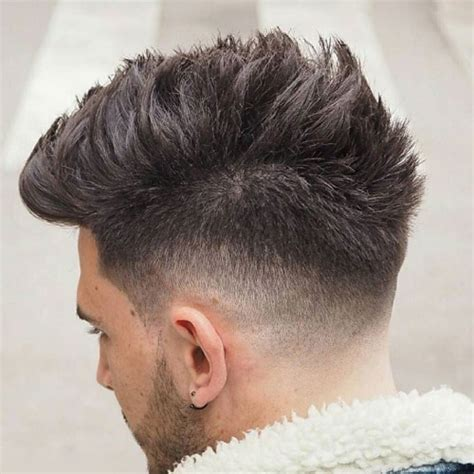 wide style mohawk spiky hair and haircuts 2017
