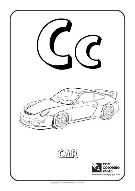 alphabet coloring pages letter c letter c coloring page alphabet cool pages printable