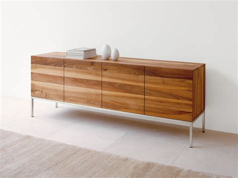 Designer Sideboards buy the e15 sb02 farah sideboard walnut at nest co uk