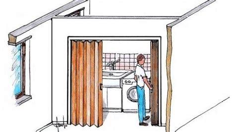 porte a soffietto montaggio porta a soffietto per piccoli spazi montaggio fai da te