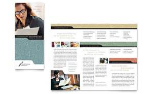 for bookkeeping services template bookkeeping accounting services tri fold brochure