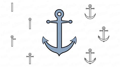 un barco facil de dibujar c 243 mo dibujar a l 225 piz el ancla de un barco paso a paso