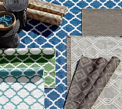 pottery barn garden rug becca tile reversible indoor outdoor rug green pottery barn
