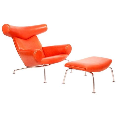 Ox Chair by Ox Chair And Ottoman By Hans Wegner At 1stdibs