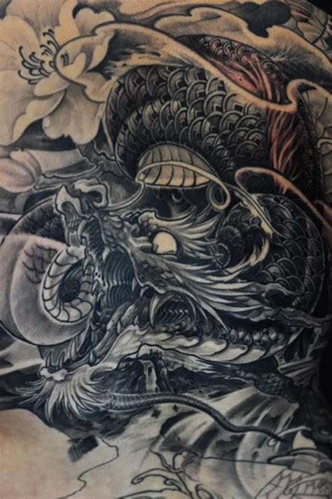 dragon back tattoo designs 80 breathtaking designs