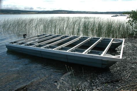 pontoon boat floats steve bareham s blog best dock float also works for