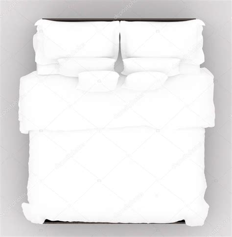 how to be good on top in bed bed with a soft mattress top view stock photo 169 sumetho