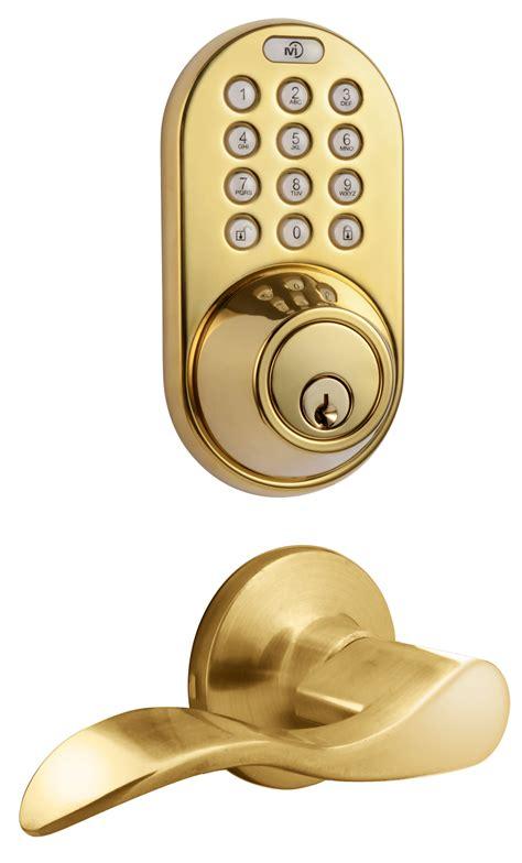 Door Knob Keypad by Milocks Xfl 02 Keyless Entry Deadbolt And Lever Handle