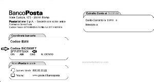 codice bic banca postepay evolution dove trovo il codice bic moneta di