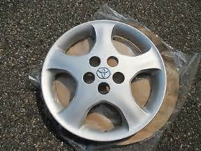 Hubcaps For Toyota Corolla 2007 One Genuine 2005 To 2008 Toyota Corolla Ce Hubcap Wheel