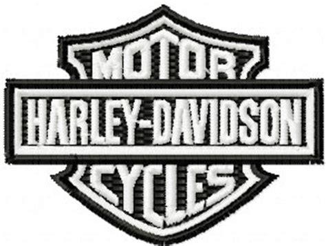 embroidery design harley davidson free harley davidson logo embroidery design for instant
