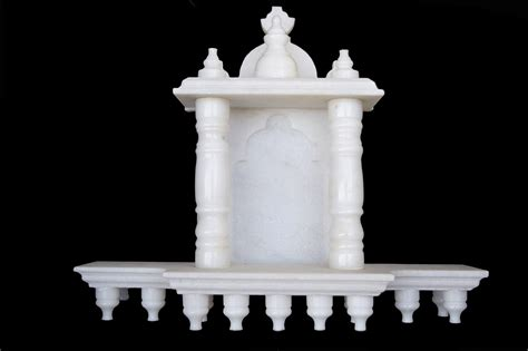 small marble temple for home white marble home temple small size 10 inches