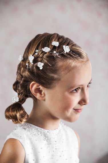 girl hairstyles vine communion hair vine floral and beaded hair wire for