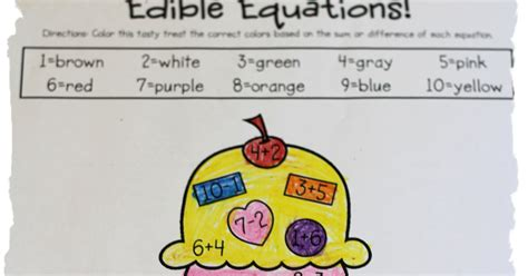 kelly and kim s kreations friday freebie ocean themed kelly and kim s kindergarten kreations edible equations