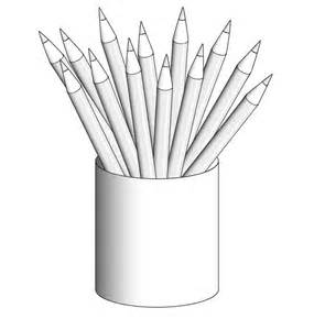 colored pencil coloring pages pencil coloring page big and small pencil gianfreda net