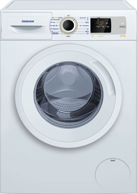 waschmaschine constructa energy constructa waschmaschine cwf14n00 vs elektro