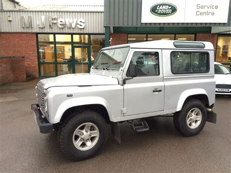 silver land rover used silver land rover defender for sale gloucestershire