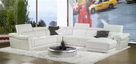 canape pacha deco in grand canape d angle cuir blanc tetieres