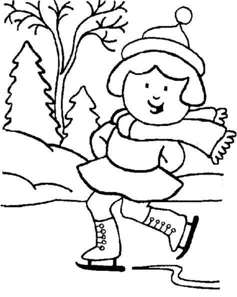 winter coloring pages for kindergarten free winter coloring pages for kindergarten coloring home