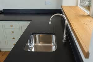 Granite Look Kitchen Worktops Bespoke Kitchens Cornwall Painted Kitchen Shaker Style